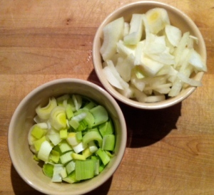 Leeks and Onion